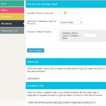 Preview Panel. Live preview on admin panel for any type of slider.