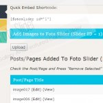 Sliders page to create and show unlimited sliders