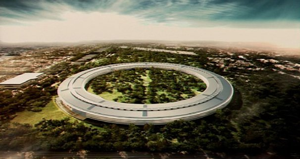 Apple's Spaceship Office To Be Completed by 2015