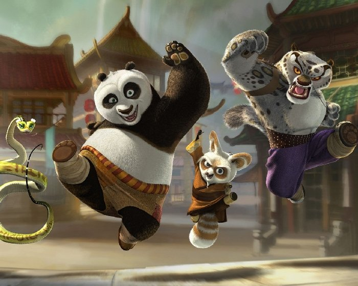 Kung Fu Panda with the Furious Five