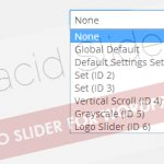 Reset Settings to default or to another setting set values