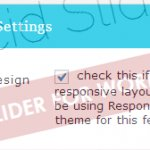 Enable - Disable Responsive Design