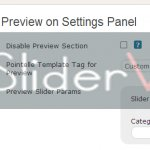Control preview of the slider before embedding the same on your homepage or other pages. Sandbox Testing