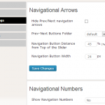 Customize Navigation Arrows and Numbers