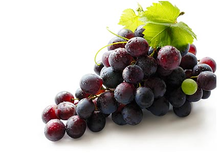 Red Grapes for Taste and Health