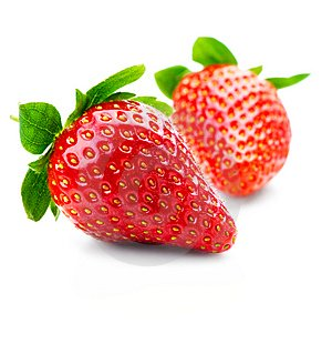 Refreshing Garden Strawberries