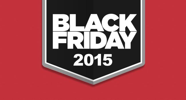 Black Friday 2015 on SliderVilla